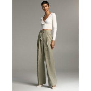 Babaton Sadiki Linen Pant Wide-leg Trouser 4